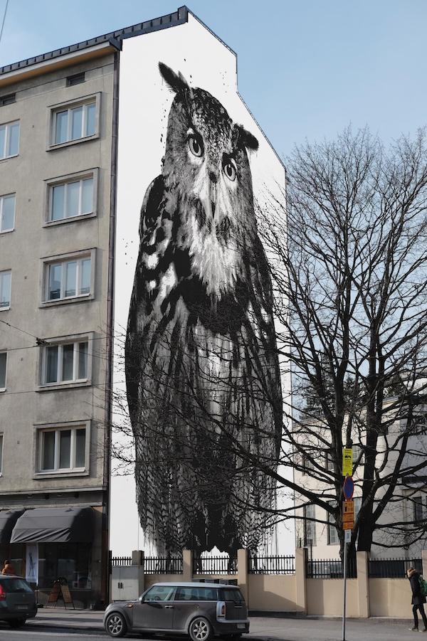 Pro Artibus muraltävling Helsingfors Tölö