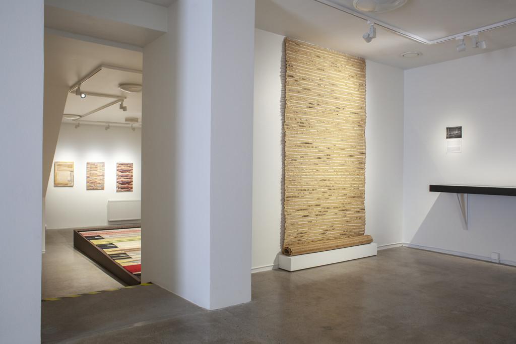 Greta Skogster-Lehtinen Elverket Pro Artibus utställning näyttely tekstilkonst tekstiilitaide